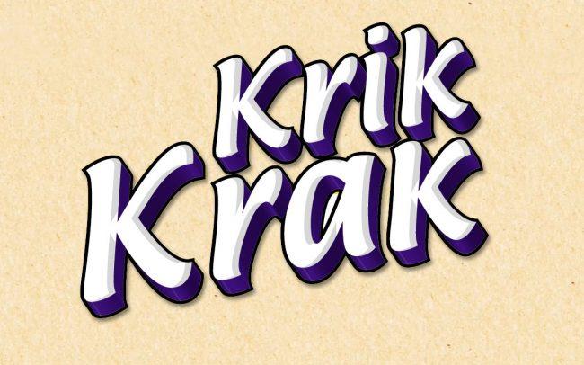 Krik Krak //Starambalaj için yapıldı 2011
